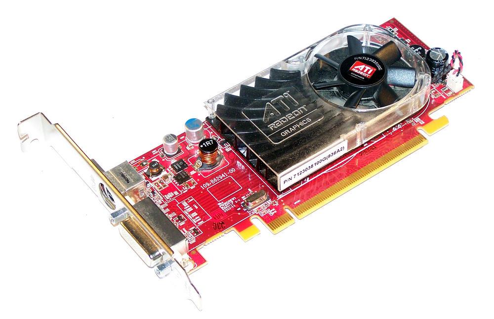 Dell X398D Radeon HD3450 256MB PCIe Graphics Card, Standard Bracket 0X398D